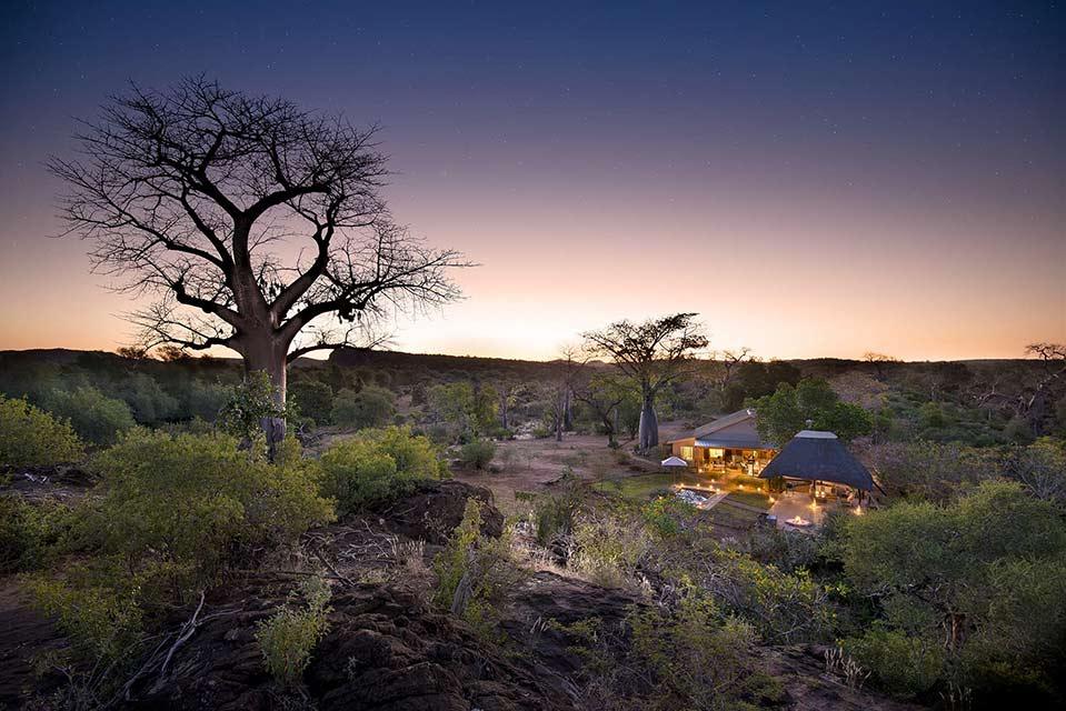 Baobab Hills Pafuri at dusk