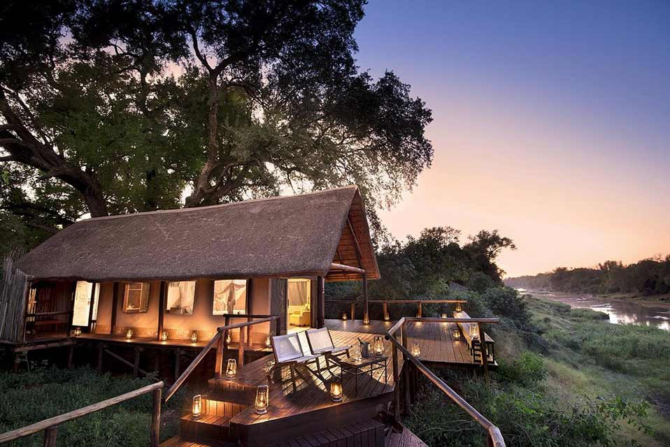 Pafuri Luxury Tented Camp - Night Shot