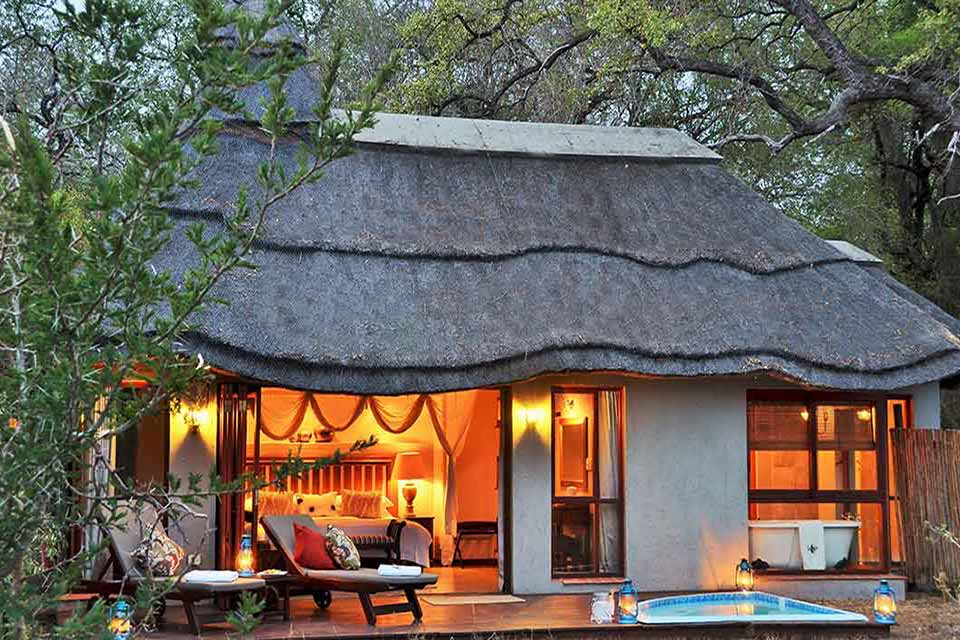 Imbali Safari Lodge - Exterior Bedroom View