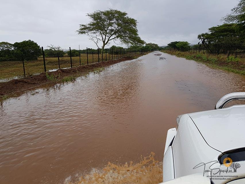 Bonamanzi Game Reserve Flooding