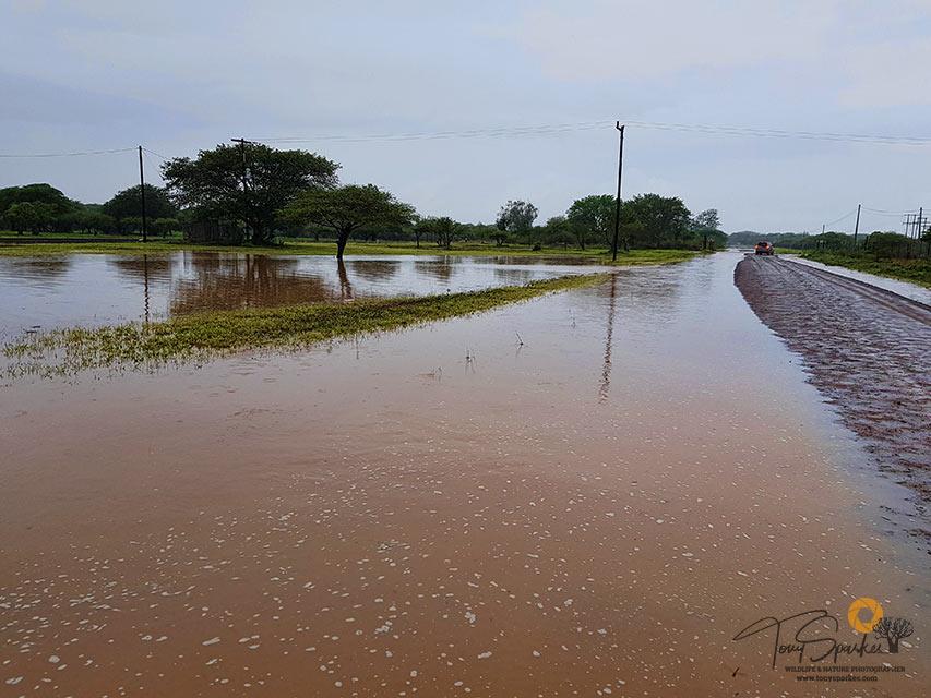 Bonamanzi Game Reserve - Flooding