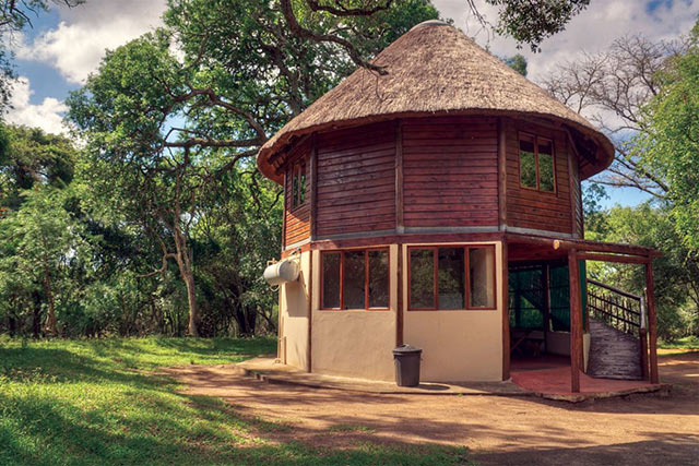 Bonamanzi Game Reserve - Tree House Accommodation External