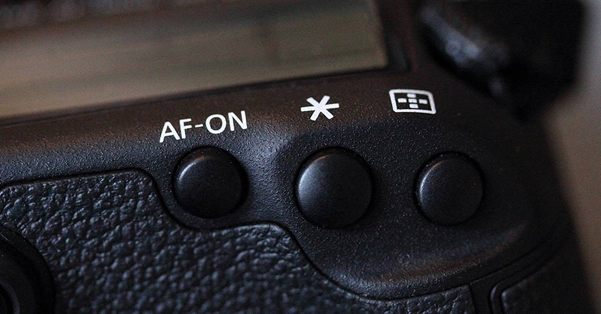 Back Button Focus - 3 buttons on a camera