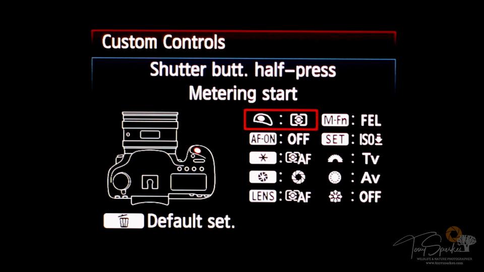 7DMkll Camera Menu - Custom Function 3