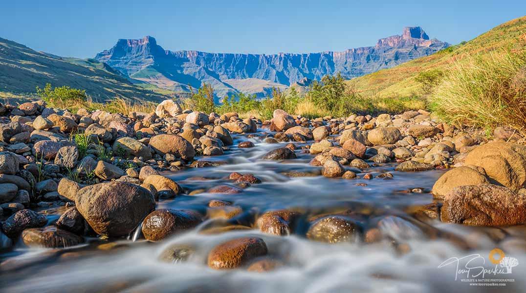 Exposure Triangle - Longer Shutter Speed for flowing water - Safari Buddies Blog